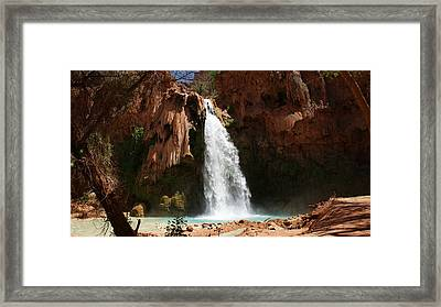 Havasu Falls Framed Print by Michael J Bauer