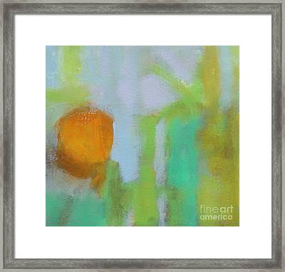 Haze II Framed Print by Virginia Dauth