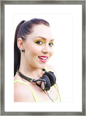 Headphones Framed Print by Jorgo Photography - Wall Art Gallery