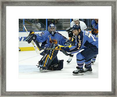 Heads Up Framed Print by Don Olea