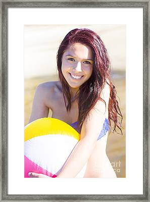 Health And Summer Fitness Framed Print by Jorgo Photography - Wall Art Gallery