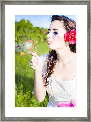 Heart Felt Happiness Framed Print by Jorgo Photography - Wall Art Gallery