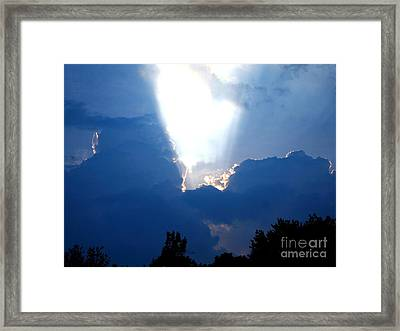 Heart Of God Framed Print
