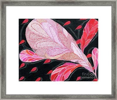 Heartpods Framed Print by Kim Sy Ok