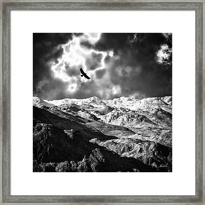 Heaven's Breath 15 Framed Print by The Art of Marsha Charlebois