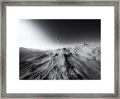 Heaven's Breath 7 Framed Print by The Art of Marsha Charlebois
