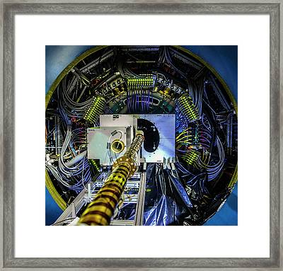Heavy Flavor Tracker Detector At Star Framed Print by Brookhaven National Laboratory