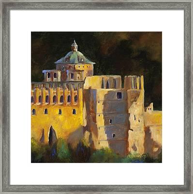 Heidelberg Schloss Framed Print