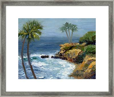 Heisler Park Framed Print by Alice Leggett
