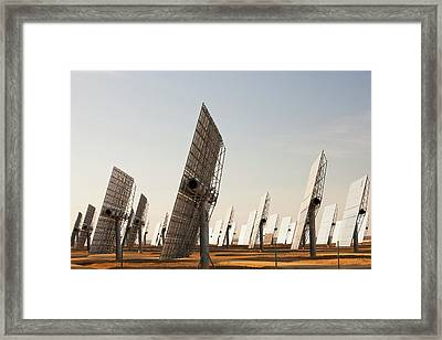 Heliostats Framed Print by Ashley Cooper