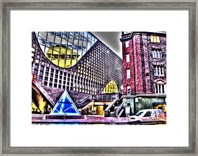 Helsinki  Street  Framed Print