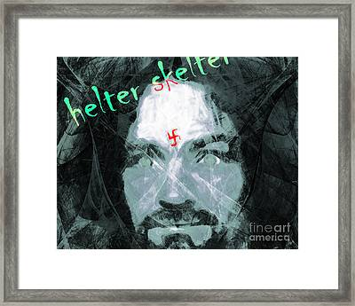 Helter Skelter 20141213 Horizontal Framed Print by Wingsdomain Art and Photography