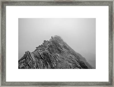 Helvellyn Framed Print by Mike Taylor