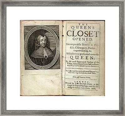 Henrietta Maria Framed Print