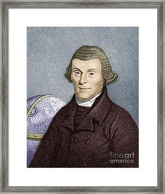 Henry Andrews, English Astronomer Framed Print