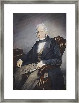Henry John Temple (1784-1865) Framed Print