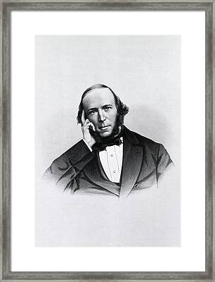 Herbert Spencer Framed Print