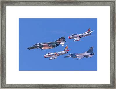 Heritage Flight Framed Print