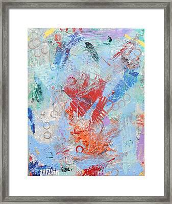 Hi-de-ho Framed Print