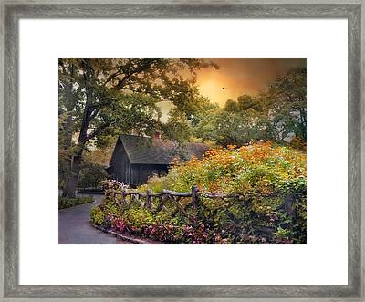 Framed Print featuring the photograph Hidden Charm by Jessica Jenney