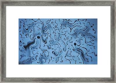 Hidden Framed Print by Matthew Blum