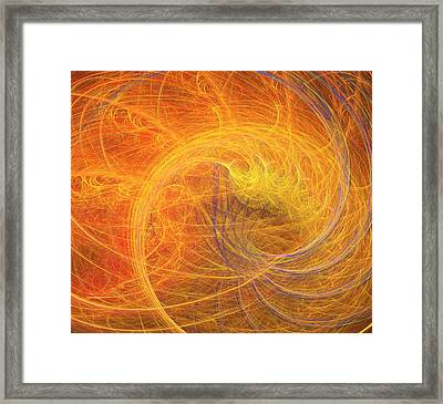 Higgs Field Artwork Framed Print by David Parker
