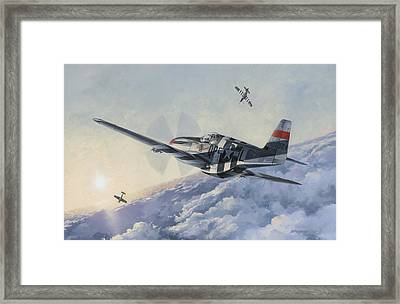 High Angle Snapshot Framed Print