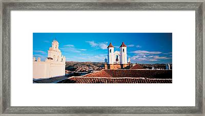 High Angle View Of A City, San Felipe Framed Print by Panoramic Images