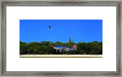 Framed Print featuring the photograph High Cover by R B Harper