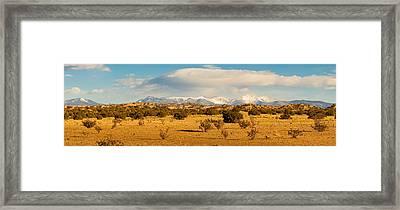 High Desert Plains Landscape Framed Print by Panoramic Images