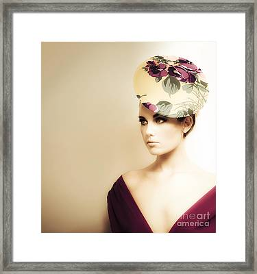 High Fashion Portrait Framed Print by Jorgo Photography - Wall Art Gallery