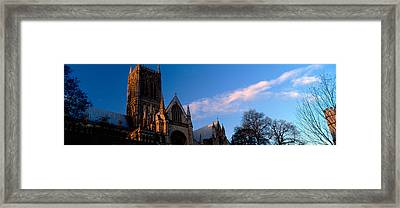 High Section View Of A Cathedral Framed Print