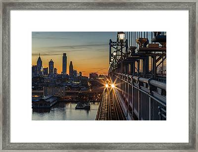 High Speed Framed Print