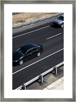 Highway Scene Framed Print by Jorgo Photography - Wall Art Gallery