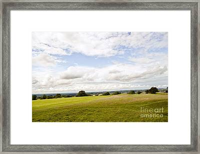 Hill Of Tara Framed Print