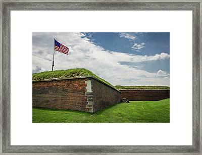 Historic Fort Mchenry, Birthplace Framed Print