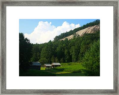 Historic Mountain Homestead Framed Print