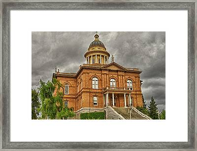 Historic Placer County Courthouse Framed Print