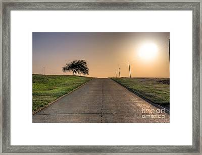 Historic Route 66 Framed Print by Twenty Two North Photography