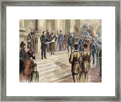 History Of Great Britain Framed Print by Prisma Archivo