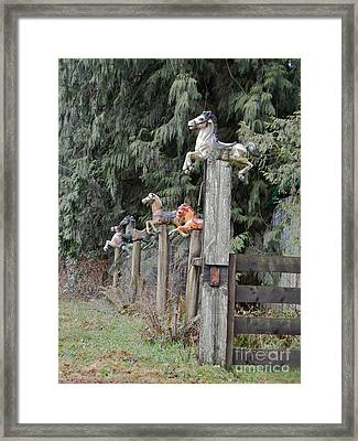 Hobby Haven Framed Print by KD Johnson