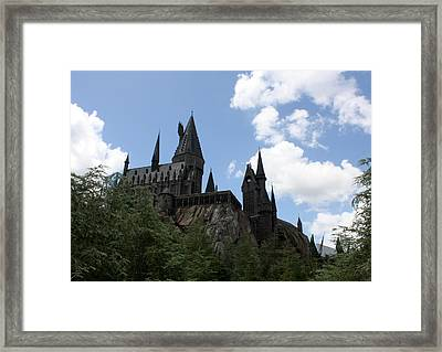 Hogwarts Castle Framed Print by David Nicholls