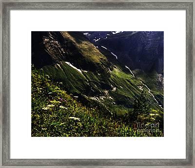 Hohe Tauern National Park Austria Framed Print