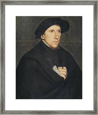 Holbein, Hans, School Of First Half Framed Print
