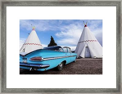 Holbrook, Arizona, United States Framed Print by Julien Mcroberts