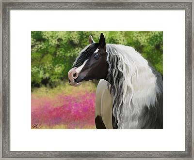 Hold On To Me Framed Print