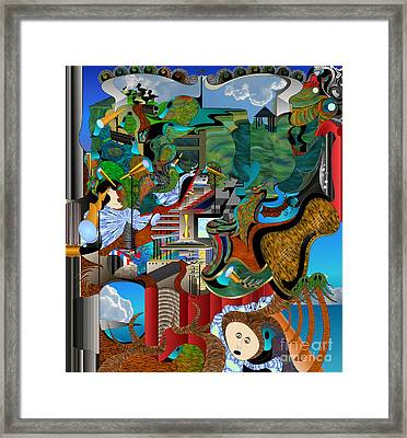 Holdt Camp Shirewood Framed Print