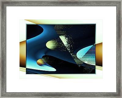 Holes Framed Print by Steve Godleski