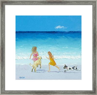 Holiday Fun Framed Print by Jan Matson
