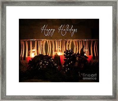 Holiday Glow Framed Print